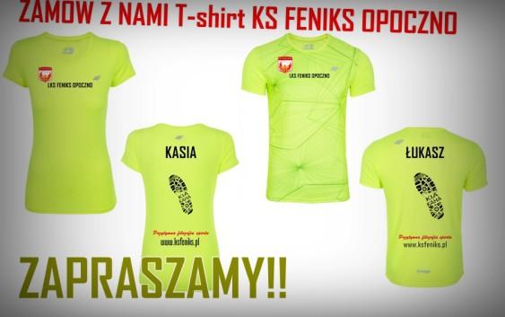 Zamów z nami T-shirt LKS Feniks Opoczno