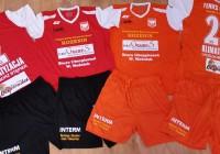Pierwsze stroje piłkarskie LKS Feniks Opoczno