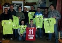Spotkanie biegaczy z LKS Feniks Opoczno i nowe koszulki
