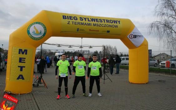 Bieg Sylwestrowy z Termami w Mszczonowie z biegaczami LKS Feniks