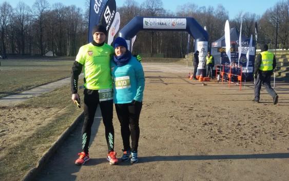 Mroźny City Trail w Łodzi z biegaczami Feniksa