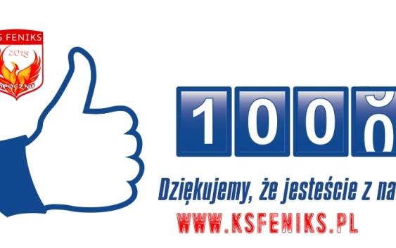 1'000 like'ów na profilu LKS Feniks Opoczno na FB! Dziękujemy!