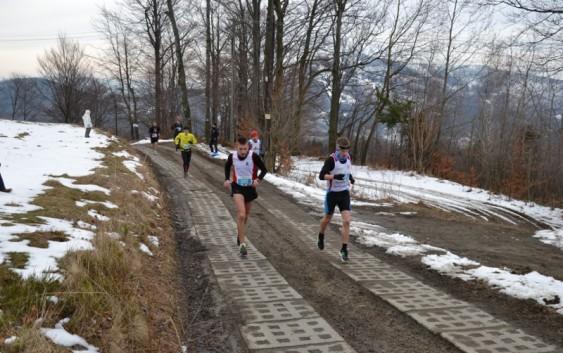 Biegacz Feniksa na Biegu Górskim RMD Winter Run