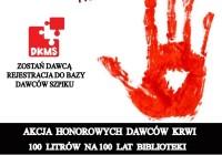 100 Litrów Krwi na 100 lat Biblioteki z FENIKSEM