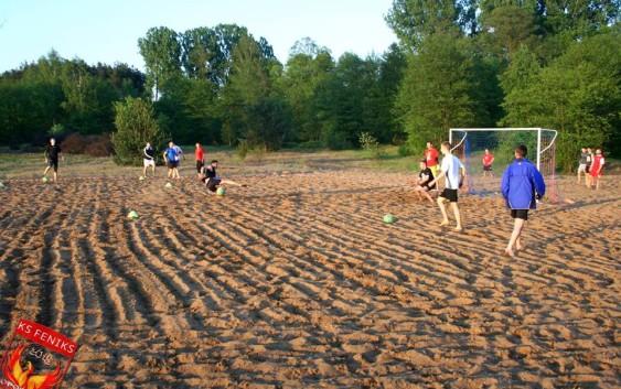 Beach Soccer z LKS Feniks Opoczno