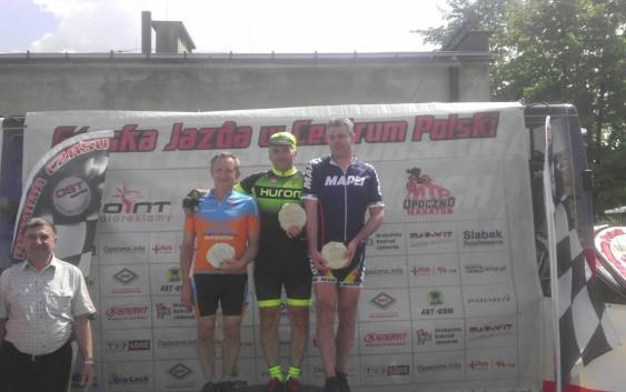 Kolarze Feniksa na podium w maratonie MTB w Odrzywole
